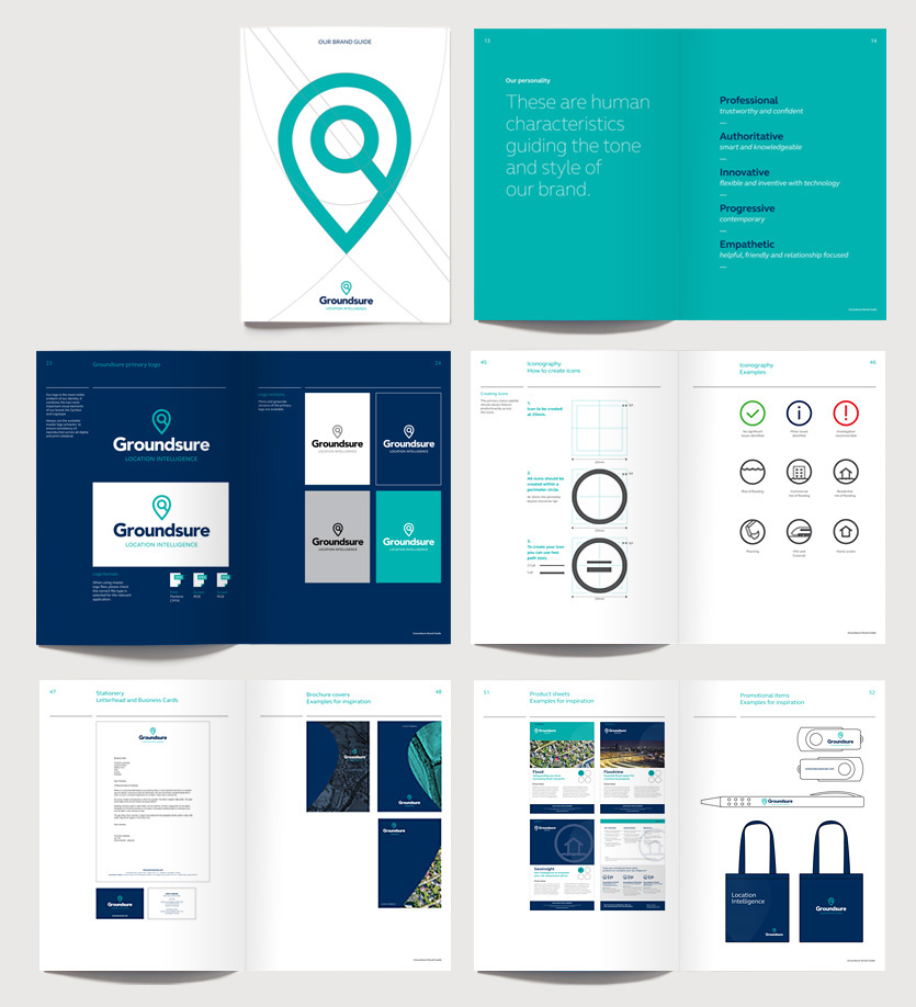 Groundsure brand guidelines