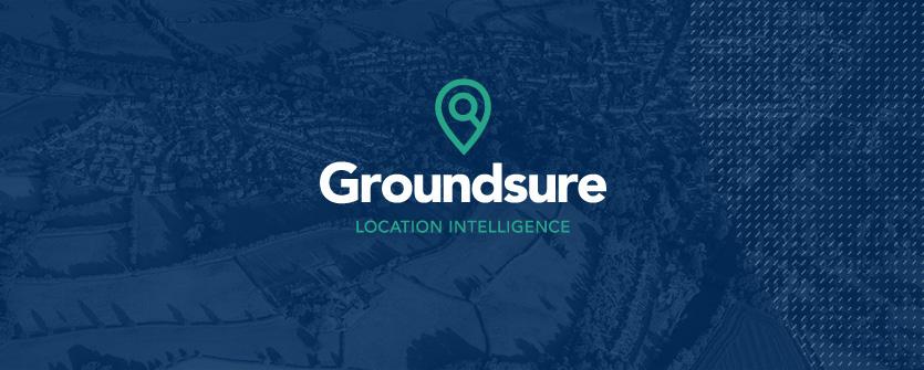 Groundsure rebrand by VGROUP branding agency