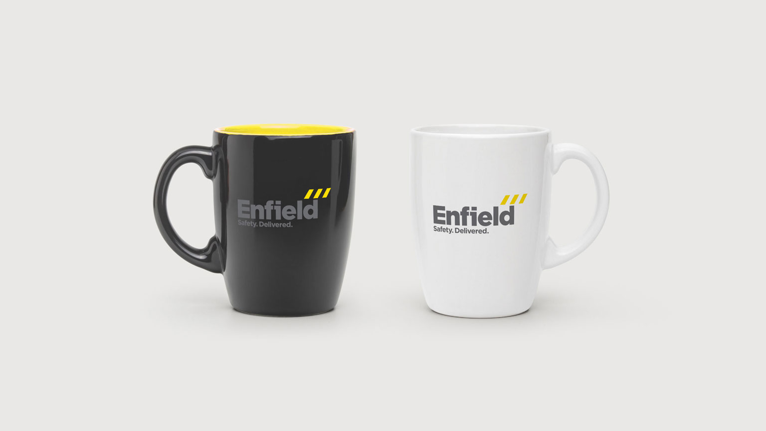 Enfield Safety rebrand by VGROUP