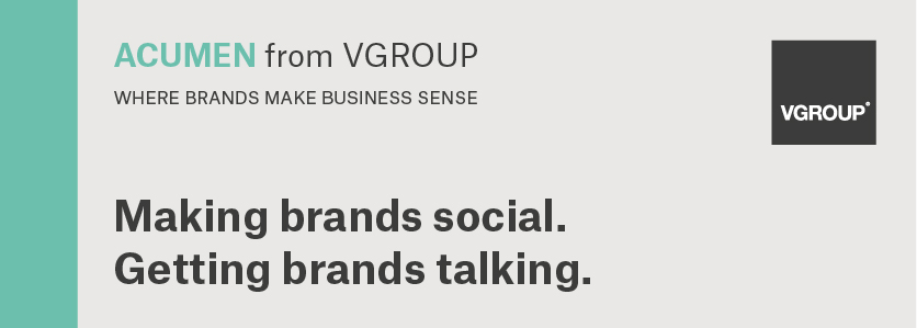 ACUMEN: Making brands social. Getting brands talking.